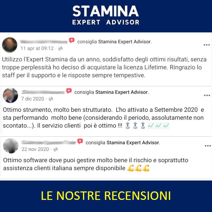 recensioni Stamina Expert Advisor